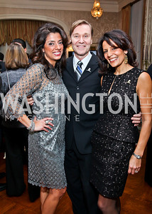 Gladys Abi-Najm, Michael Olding, Eunice Mazloom. Photo by Tony Powell. St. Jude Reception at the residence of the Lebanese Ambassador. November 13, 2012