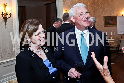 Gayle Wicker and Senator Roger Wicker. Photo by Tony Powell. St. Jude Reception at the residence of the Lebanese Ambassador. November 13, 2012