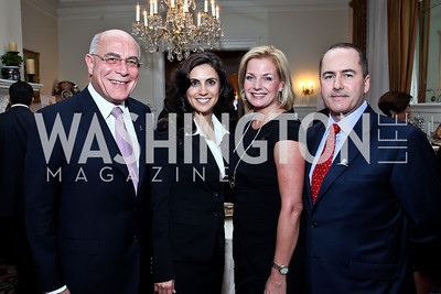 Yousif Ghafari, Majida Mourad, Lisa Hagerty and Walter Houston. Photo by Tony Powell. St. Jude Reception at the residence of the Lebanese Ambassador. November 13, 2012