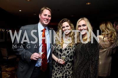 "William Norgard, Heather Simpson, Ashlan Gorse Malek. Photo by Tony Powell. Starlight Taste of the Stars ""A Stellar Night."" Four Seasons. November 17, 2012"