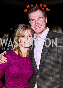 "Virginia Shore and Tom Hardart. Photo by Tony Powell. Starlight Taste of the Stars ""A Stellar Night."" Four Seasons. November 17, 2012"