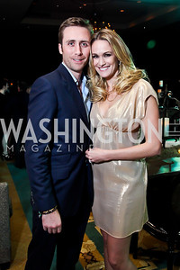 "Philippe Cousteau and Ashlan Gorse. Photo by Tony Powell. Starlight Taste of the Stars ""A Stellar Night."" Four Seasons. November 17, 2012"
