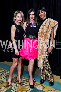 "Pam Murray, Nina Snow, Mary Barth. Photo by Tony Powell. Starlight Taste of the Stars ""A Stellar Night."" Four Seasons. November 17, 2012"