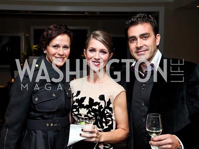 """Natalia Monteiro, Karen Lohnes, Antonio Monteiro. Photo by Tony Powell. Starlight Taste of the Stars """"A Stellar Night."""" Four Seasons. November 17, 2012"""