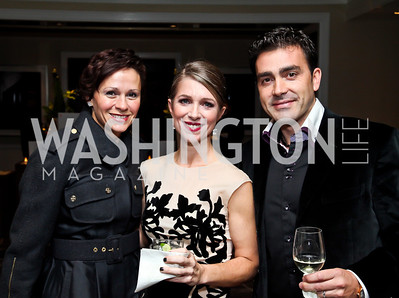 "Natalia Monteiro, Karen Lohnes, Antonio Monteiro. Photo by Tony Powell. Starlight Taste of the Stars ""A Stellar Night."" Four Seasons. November 17, 2012"