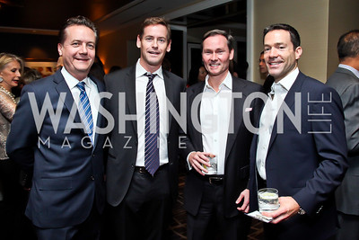 "Martin Gammon, Howard Owens, Michael Rankin, Mark Green. Photo by Tony Powell. Starlight Taste of the Stars ""A Stellar Night."" Four Seasons. November 17, 2012"