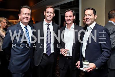 "Martin Gammon, Howard Owens, Michael Rankin, Mark Green. Photo by Tony Powell. Starlight Taste of the Stars ""A Stellar Night."" Four Seasons. November 17, 2012"