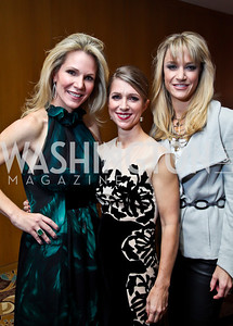 "Starlight Co-Chairs Annie Magruder, Karen Lohnes, Kirsten Pollin. Photo by Tony Powell. Starlight Taste of the Stars ""A Stellar Night."" Four Seasons. November 17, 2012"