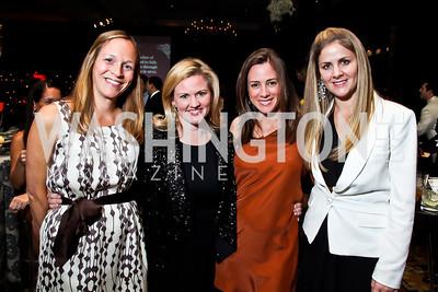 "Caroline Shannon, Sassy Jacobs, Abby Echols, Michelle Maddux. Photo by Tony Powell. Starlight Taste of the Stars ""A Stellar Night."" Four Seasons. November 17, 2012"