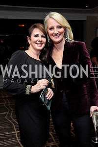 "Micki Ward, Rachel Sheridan. Photo by Tony Powell. Starlight Taste of the Stars ""A Stellar Night."" Four Seasons. November 17, 2012"