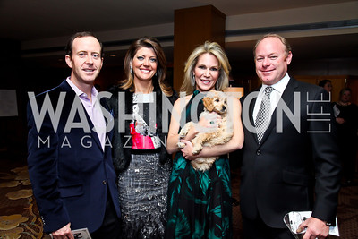 """Geoff Tracy and Norah O'Donnell, Annie and Mike Magruder. Photo by Tony Powell. Starlight Taste of the Stars """"A Stellar Night."""" Four Seasons. November 17, 2012"""