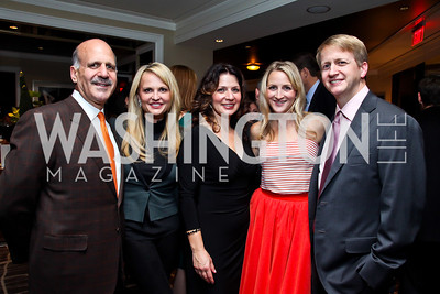 "Dave and Jamie Dorros, Desi Olson, Carrie and David Marriott. Photo by Tony Powell. Starlight Taste of the Stars ""A Stellar Night."" Four Seasons. November 17, 2012"
