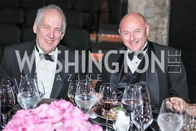 David Adler, Bill George. Studio 34 The Studio Theatre Annual Gala. Studio Theatre. February 4, 2012. Photo by Alfredo Flores