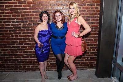 Ezree Mualem, Nikki Grizzle,Sarah Newins. Studio 34 The Studio Theatre Annual Gala. Studio Theatre. February 4, 2012. Photo by Alfredo Flores