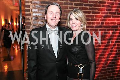 Jim Boyle, Marta Riordan. Studio 34 The Studio Theatre Annual Gala. Studio Theatre. February 4, 2012. Photo by Alfredo Flores