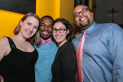 Hannah Urrey, Alvin Ford, Brenn Barber, Jerome Hunt. Studio 34 The Studio Theatre Annual Gala. Studio Theatre. February 4, 2012. Photo by Alfredo Flores