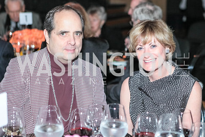 Jeff Richardson, Laura Rosenberg. Studio 34 The Studio Theatre Annual Gala. Studio Theatre. February 4, 2012. Photo by Alfredo Flores