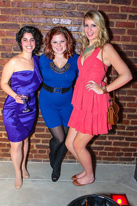 Ezree Mualem, Nikki Grizzle,Sarah Newins. Studio 34 The Studio Theatre Annual Gala. Studio Theatre. February 4, 2012. Photo by Alfredo Flores
