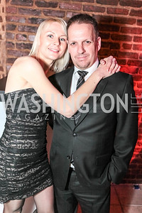 Marina Polyalow, Jeff Winch. Studio 34 The Studio Theatre Annual Gala. Studio Theatre. February 4, 2012. Photo by Alfredo Flores
