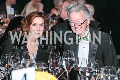 Andrea McArdle, Tim Terpstra. Studio 34 The Studio Theatre Annual Gala. Studio Theatre. February 4, 2012. Photo by Alfredo Flores