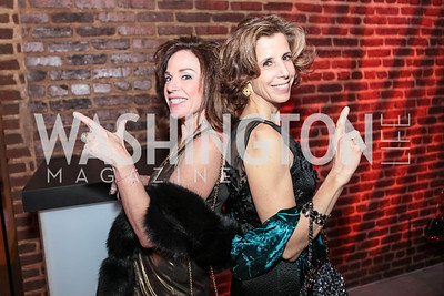 Margery Doppelt, Carole Feld. Studio 34 The Studio Theatre Annual Gala. Studio Theatre. February 4, 2012. Photo by Alfredo Flores