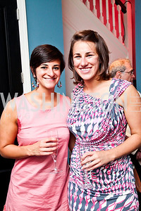 Katherine and Caroline Sancken. Honoring the Promise Gala Kickoff. Photo by Tony Powell. Edwards/Fonticiella residence. July 24, 2012