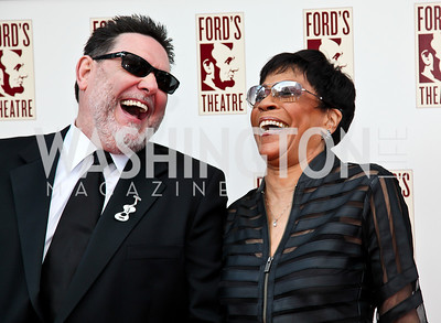 Kevin Kiley, R&B singer Bettye LaVette. Ford's Theatre Annual Gala. Photo by Tony Powell. June 3, 2012