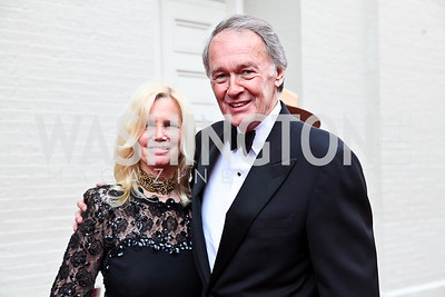 Susan Blumenthal and Rep. Ed Markey. Ford's Theatre Annual Gala. Photo by Tony Powell. June 3, 2012