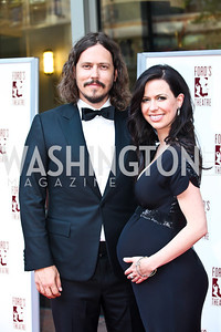 The Civil Wars' John Paul White and Joy Williams. Ford's Theatre Annual Gala. Photo by Tony Powell. June 3, 2012