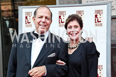 Richard and Liz Dubin. Ford's Theatre Annual Gala. Photo by Tony Powell. June 3, 2012