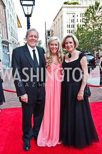 John Tanner, granddaughter Abbie Atkins, Betty Ann Tanner. Ford's Theatre Annual Gala. Photo by Tony Powell. June 3, 2012