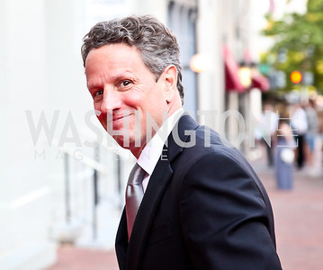 Treasury Secretary Timothy Geithner. Ford's Theatre Annual Gala. Photo by Tony Powell. June 3, 2012
