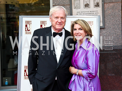 Chris and Kathleen Matthews. Ford's Theatre Annual Gala. Photo by Tony Powell. June 3, 2012