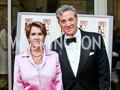 Minority Leader Nancy Pelosi and Paul Pelosi. Ford's Theatre Annual Gala. Photo by Tony Powell. June 3, 2012