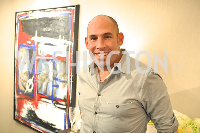 TTR Sotheby's hosts an art opening for Brian Petro at their Chevy Chase office.  Photo by Ben Droz