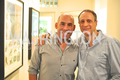 Brian Petro, Steven Stone, TTR Sotheby's hosts an art opening for Brian Petro at their Chevy Chase office.  Photo by Ben Droz