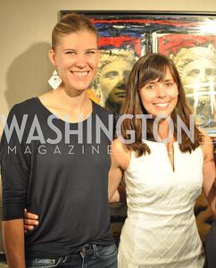 Meriah Burke- Raines, Pamela Wye, 2012-07-24 TTR Sotheby's Art Show 14 (1)