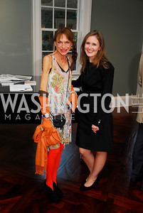 Barbara Crocker,Katharine Thomas,September 19,2012 TTR Sotheby's Investing in Fine Watches Reception,Kyle Samperton
