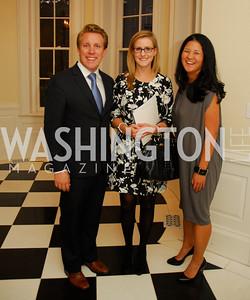 Bradley Nelson,Brittany Bansak,Trish Yan,September 19,2012 TTR Sotheby's Investing in Fine Watches Reception,Kyle Samperton