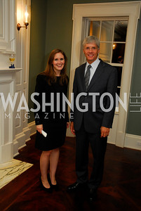 Katharine Thomas,Lars Okeson,,September 19,2012 TTR Sotheby's Investing in Fine Watches Reception,Kyle Samperton