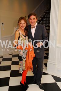 Barbara Crocker, Christian Zapata,September 19,2012 TTR Sotheby's Investing in Fine Watches Reception,Kyle Samperton