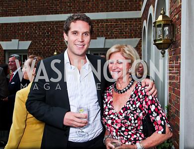Stuart Duguid and Maggie Shannon. Washington Luxury Homes Tour Patron's Party. Photo by Tony Powell. Lowham/Ruzzo residence. May 24, 2012