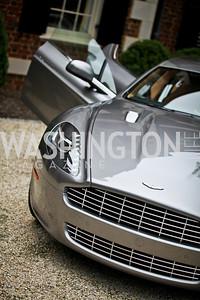 Aston Martin. Washington Luxury Homes Tour Patron's Party. Photo by Tony Powell. Lowham/Ruzzo residence. May 24, 2012