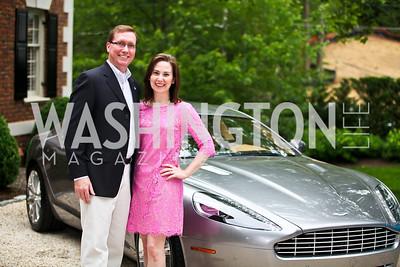 Glen and Laura Reece. Washington Luxury Homes Tour Patron's Party. Photo by Tony Powell. Lowham/Ruzzo residence. May 24, 2012