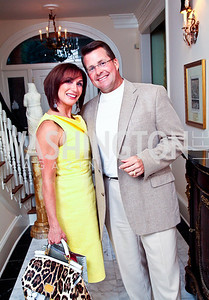 Diane and Timothy Boone. Washington Luxury Homes Tour Patron's Party. Photo by Tony Powell. Lowham/Ruzzo residence. May 24, 2012
