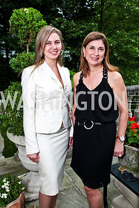 Ellie Tabar, Fariba Jahanbani. Washington Luxury Homes Tour Patron's Party. Photo by Tony Powell. Lowham/Ruzzo residence. May 24, 2012
