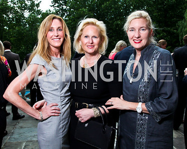 Maura Shannon, Honor Ingersoll, Caroline Landau. Washington Luxury Homes Tour Patron's Party. Photo by Tony Powell. Lowham/Ruzzo residence. May 24, 2012