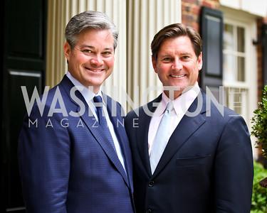 Mark Lowham and Joe Ruzzo. Washington Luxury Homes Tour Patron's Party. Photo by Tony Powell. Lowham/Ruzzo residence. May 24, 2012