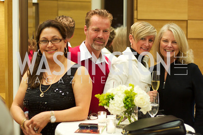 Susan Ladani, Mel Hilburn, Nickie Jordan, Jayne Ehrens.  TTR Sotheby's and Cartier's, April 18, 2012. Photo by Ben Droz