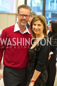 Mel Hilburn, Fariba Jahanbani.TTR Sotheby's and Cartier's, April 18, 2012. Photo by Ben Droz